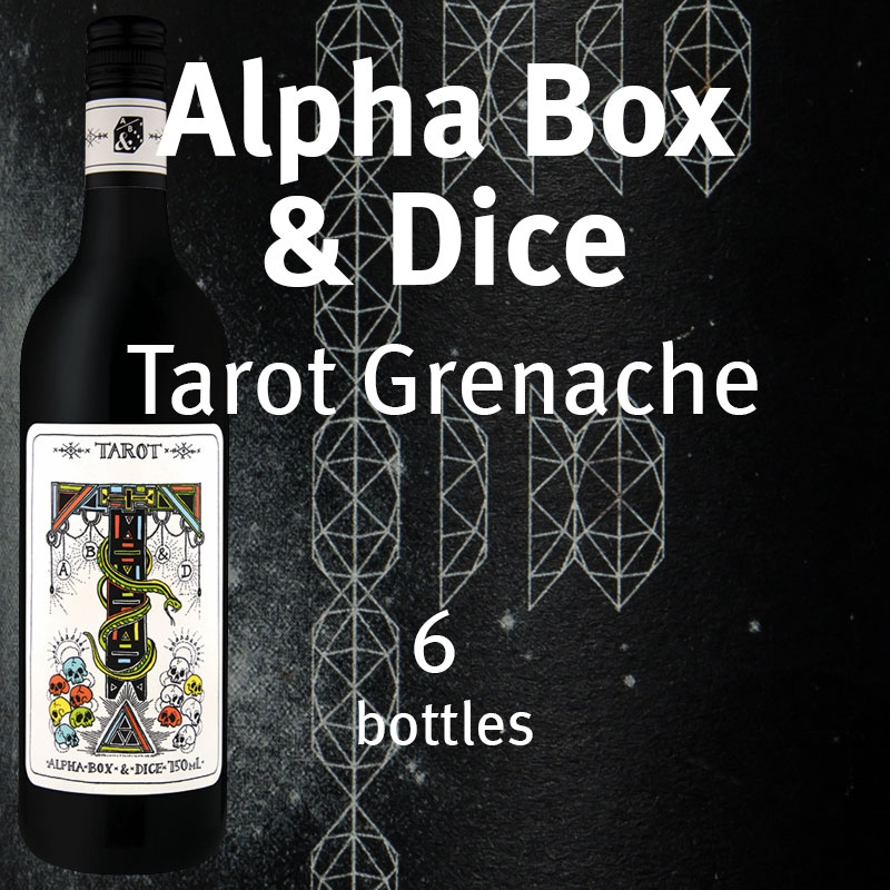 Alpha Box & Dice Tarot Grenache six pack