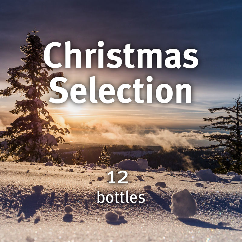 12 Bottle Christmas Selection