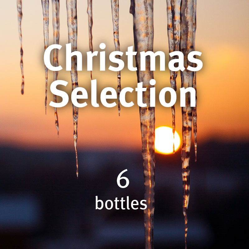6 Bottle Christmas Selection