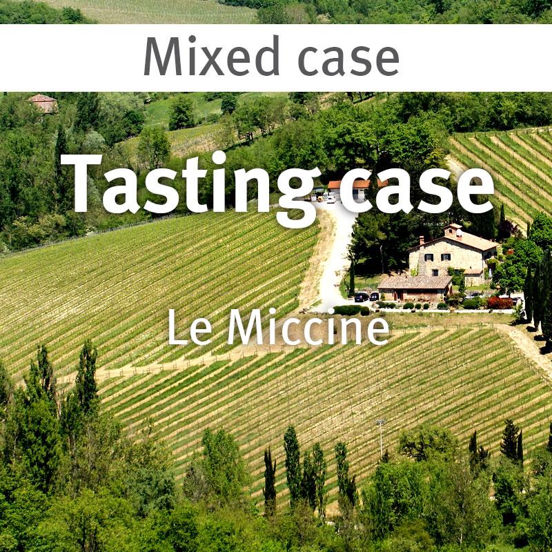 Le Miccine tasting case 28.05.21