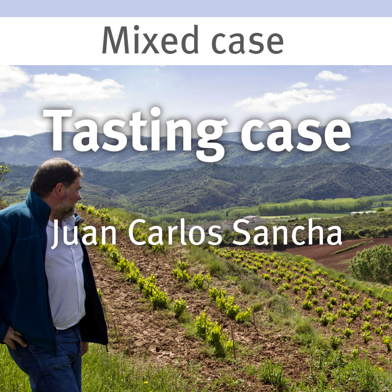 Juan Carlos Sancha tasting case 18.06.21