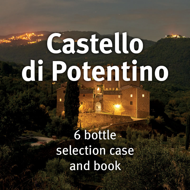 Castello di Potentino Selection Case with Book